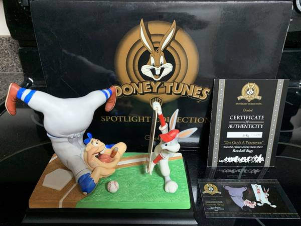 Photo Looney Tunes Goebel Spotlight Collection quotBaseball Bugs in Box - $200 (Tallahassee)