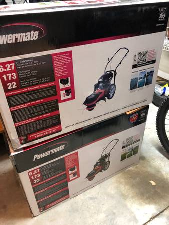 Photo New Powermate Walk Behind String Trimmer - $225 (Near Costco)