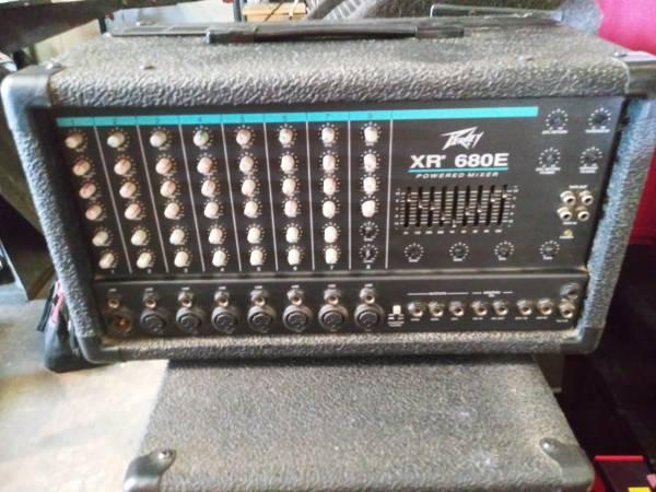 Photo Peavey XR 680E Mixer - $200 (Tallahassee)