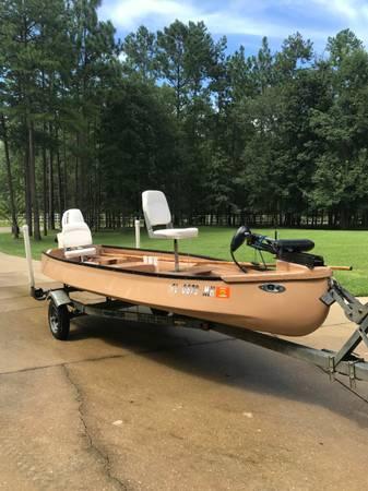 Riverhawk B60 Gheenoe 16ft Just Hull And Accessories