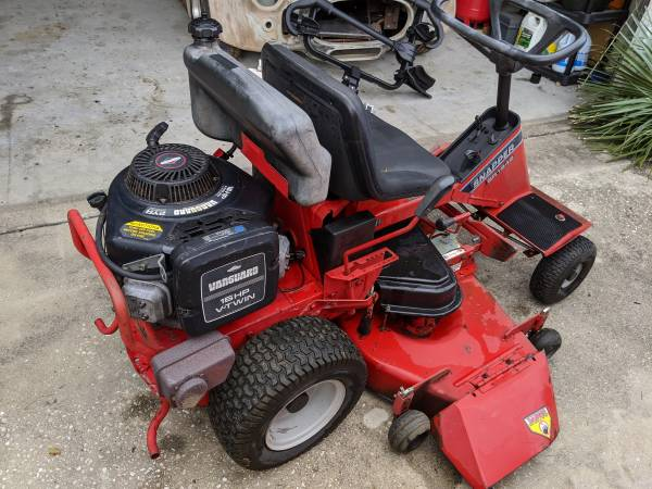 Photo SNAPPER 42quot RIDING LAWN MOWER - $300 (Crawfordville)