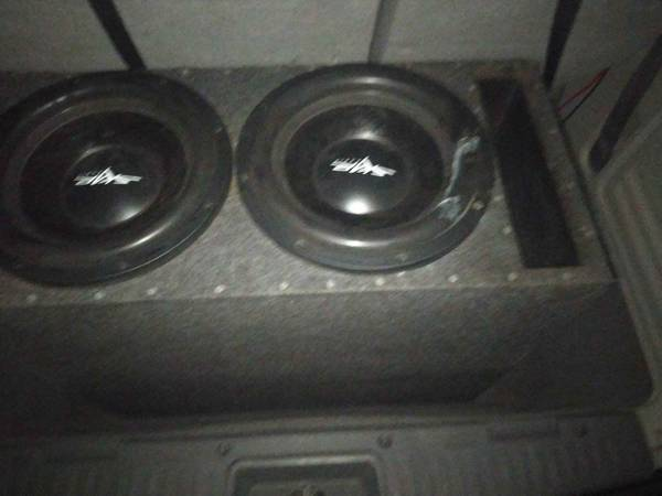 Photo Skar audio ddx 12 inch subs - $200 (Tallahassee)
