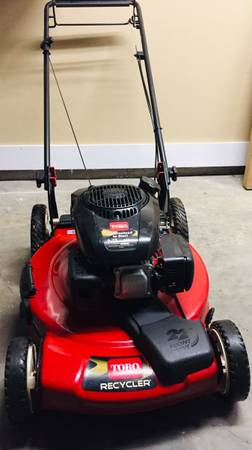 Photo Toro Recycler Self Propelled Lawn Mower - $120