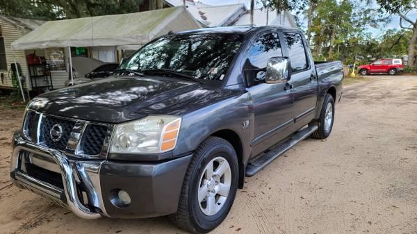 Photo WOW  2013 NISSAN TITAN XE CLEAN 4199 FAIRTRADE AUTO - $4,199 (314 white drive, tallahassee fl)