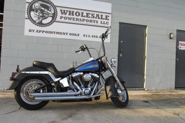 Photo 09 Harley Davidson Softail Deluxe FLSTN 96 CU IN - $8,000 (Ta)