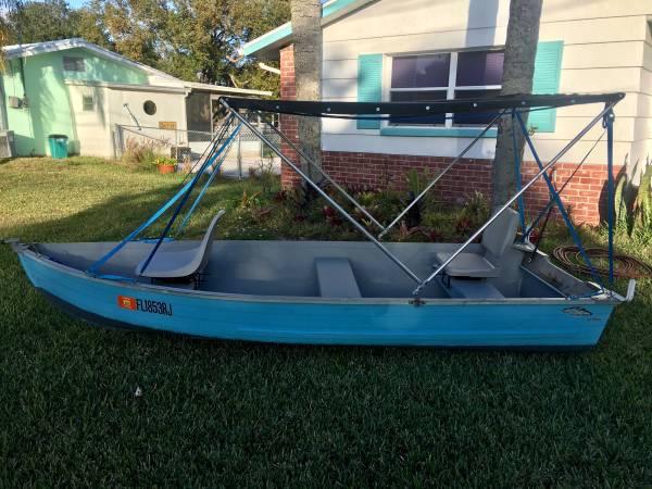 12 foot Aluminum V-Hull Jon boat - $600 (Port Richey) | Boats For