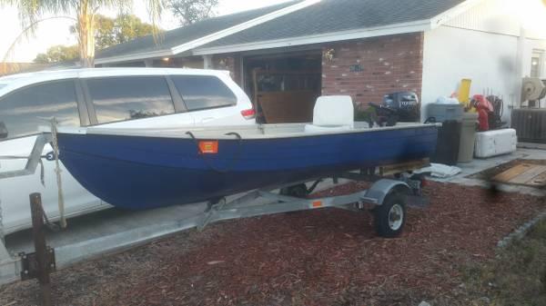 12 foot V Hull Jon Boat - $600 (NPR) | Boats For Sale | Tampa, FL