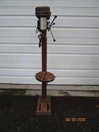 Photo 16 Speed Floor Drill Press KF13F - $165 (Riverview)