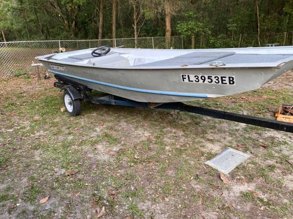 Photo 16 foot Jon boat - $2,100 (Dade city)