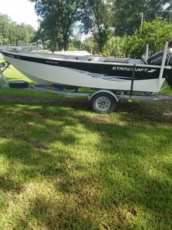 Photo 16 foot aluminum hull - $2,500