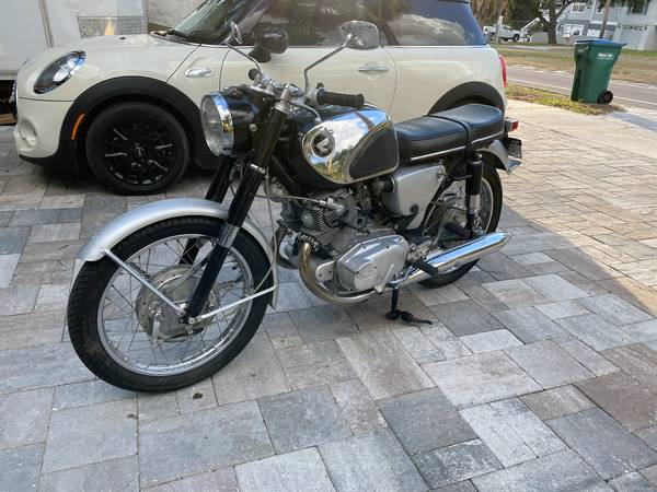 Photo 1965 Honda 305 CB77 Superhawk Cafe Racer - $4,500 (Palm Harbor)
