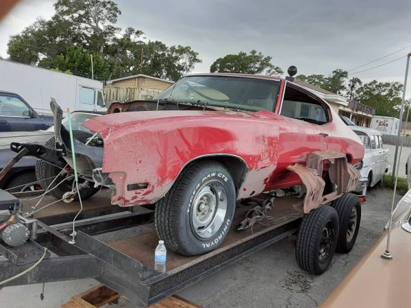 Photo 1972 Buick Skylark GS CLONE Project WITH ALL PARTS - $7,500 (Saint Petersburg)