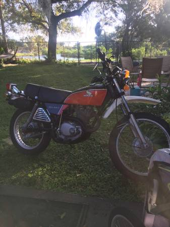 Photo 1976 Honda xl350 - $2750 (St Pete)