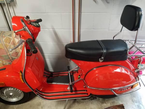 Photo 1980 vespa scooter 125cc all original - $6,500 (south pasadena)