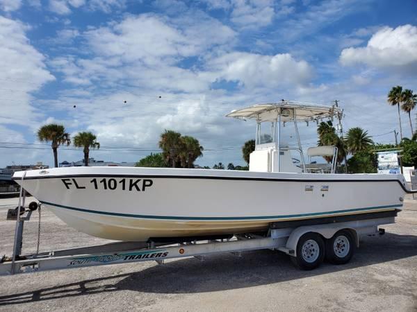Photo 1999 SeaVee 280i inboard Caterpillar diesel  trailer - $79,900 (Treasure Island)