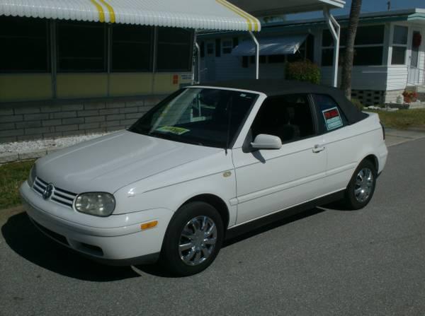 Photo 2000 VW Cabrio Convertible - $3200 (Pinellas Park)
