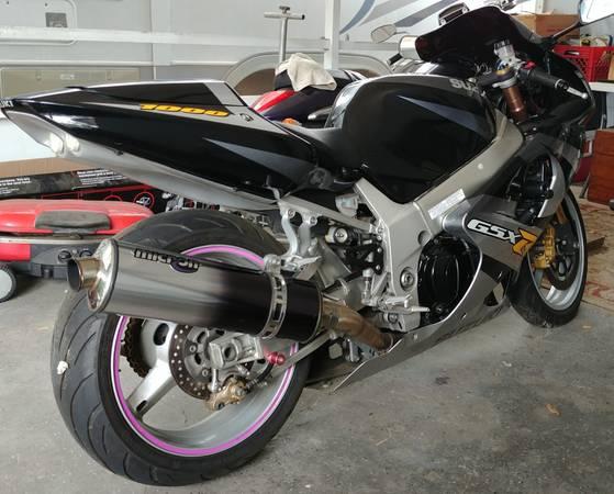 Photo 2001 Suzuki Gsxr 1000 - $4,500 (Seffner)