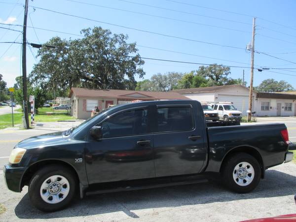 Photo 2004 NISSAN TITAN XE V8 4 DOOR ,FULL P. 2 OWNERS,HOLIDAY (727)678-3533 - $5599 (HOLIDAY)