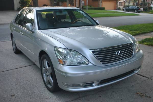 Photo 2005 Lexus L5430 Navigation Sunroof Must See - $9,950 (Clearwater)