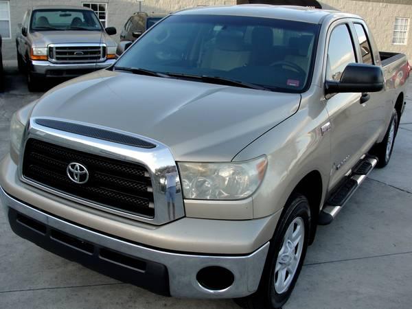 Photo 2007 Toyota Tundra 5.7 SR5 Extra Clean Runs New - $6995 (Ta, FL)