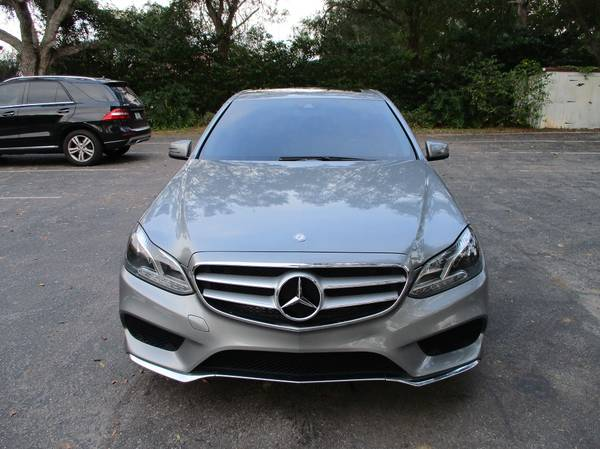 Photo 2014 MERCEDES E350  AMG SPORT PACKAGE - $15,900 (Clearwater)