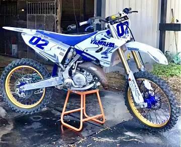 Photo 2015 Yamaha YZ125 2 stroke dirt bike Race ready - $3,995 (Dade city)