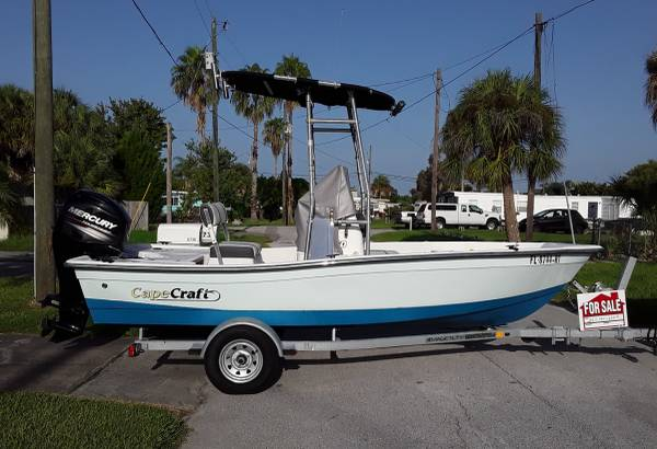 Photo 2018 Cape craft 1639 boat, motor and trailer - $14,000 (Hudson)