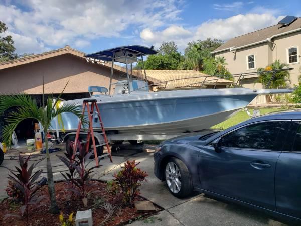 Photo 25 ft center console fishing boat, BAJA - $24,800 (Tarpon springs)