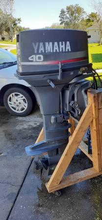 Photo 40 hp Yamaha outboard motor - $1750 (Winter Haven)