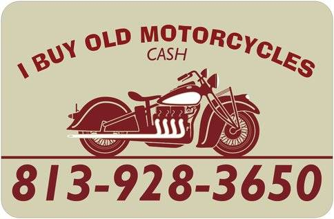 Photo BUYING OLD MOTORCYCLES (Lutz)