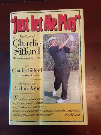 Photo Charlie Sifford Just Let Me Play - $25 (New Port Richey)