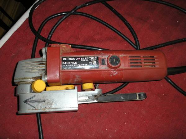 Photo Chicago Electric Tools Band File - $10 (St Petersburg)