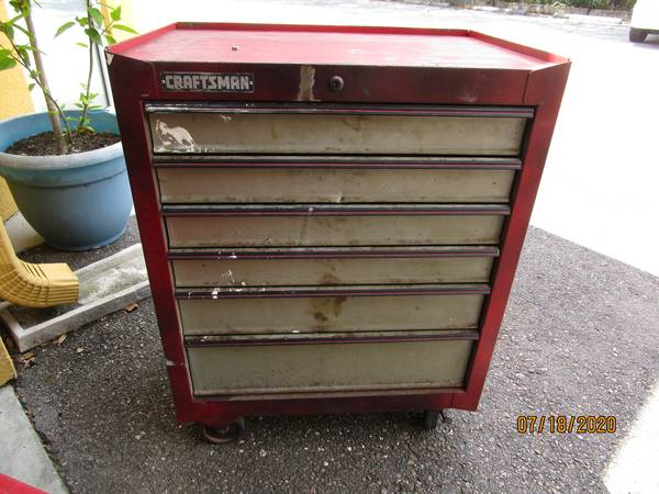 Photo Craftsman Rolling USA Tool Box - $150 (Riverview)