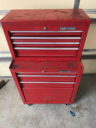 Photo Craftsman Upper  Lower Tool Chest - $100 (Dover, FL)