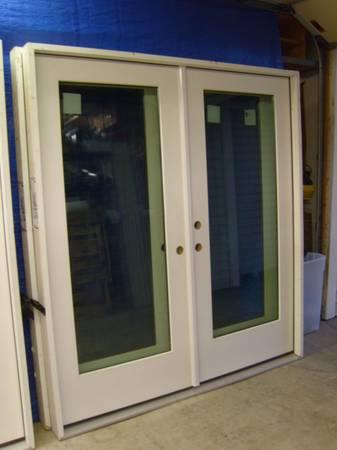 Photo Doors Jeld-Wen Exterior 6-ft. Fiberglass French Door System - $550 (Palm Harbor)