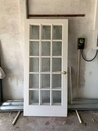 Photo French doors. 6068 door. - $30