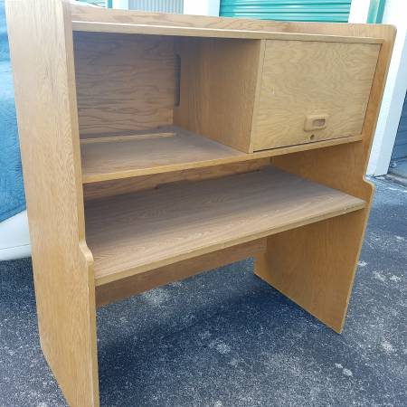 Photo Garage Storage Cabinet,Shelves,Solid Oak Plywood,Unfinished - $30 (Clearwater)