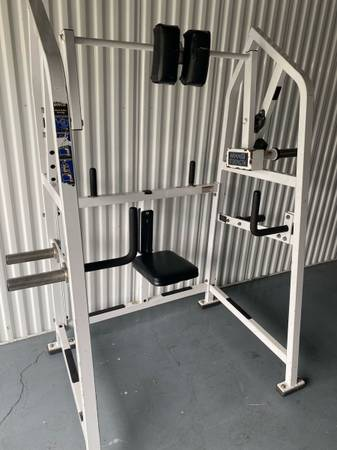 Photo HAMMER STRENGTH 4 WAY PLATE LOADED NECK MACHINE - $290 (Wesley Chapel)