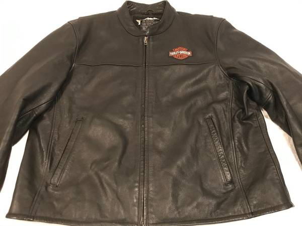 Photo Harley Davidson Mens Leather Jacket 2XL - $70 (Clearwater)