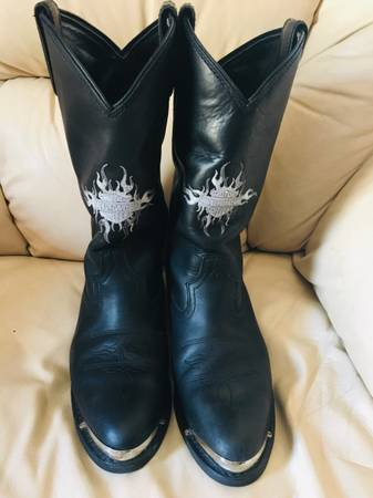 Photo Harley Davidson Riding Boots 10 Mens - $350 (Clearwater)