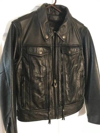 Photo Harley Davidson quotNevadaquot Ladies Leather Jacket - $130 (Clearwater)
