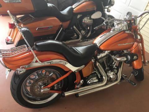 Photo Harley Softail Springer CVO - $11,000 (Zephyrhills)