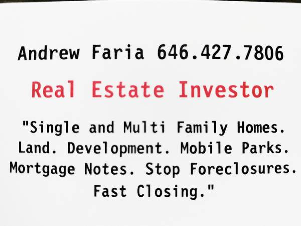 Photo Home Owner Sell Me Your Real Estate As Is. No Fee39s. We Pay You (We Are Not Looking To Waste Your Time. Let39s Make a Deal Now)