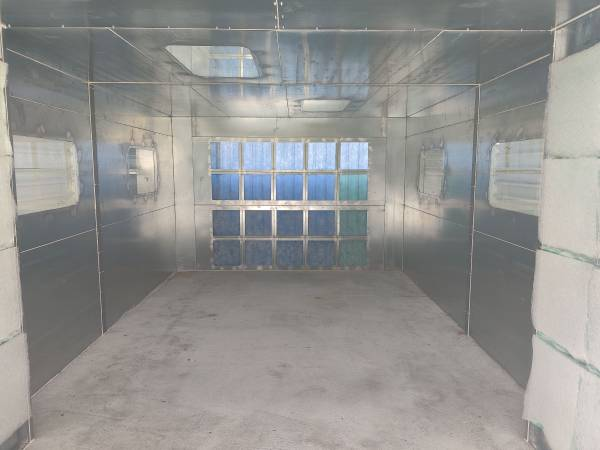 Photo INDUSTRIAL SPRAY PAINT BOOTH FOR AUTO (brand new) - $8,500 (Pinellas Park)