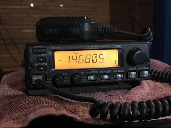 Photo Icom IC-2000 2m ham radio - $80 (Brooksville)
