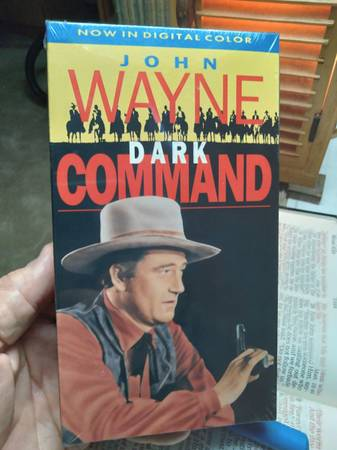 Photo John Wayne VHS video cassette movie NEW unopened - $5 (Pinellas park (Free shipping))