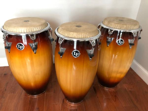 Photo LP Top Tuning Congas- set of 3 - $850