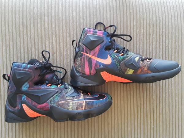 Photo NIKE LEBRON JAMES XIII quot330quot MENS SZ. 12 BASKETBALL SHOES, NEW - $85 (Trinity)