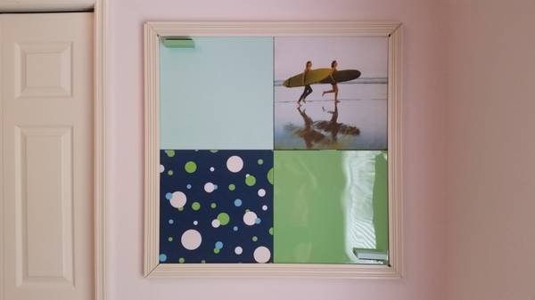 Photo Pottery Barn Teen PBTeen Tile White Board and Pin Up Board Wall Set - $25 (Palm Harbor)