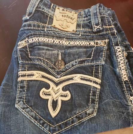 Photo Rock Revival Jeans 32 - $40